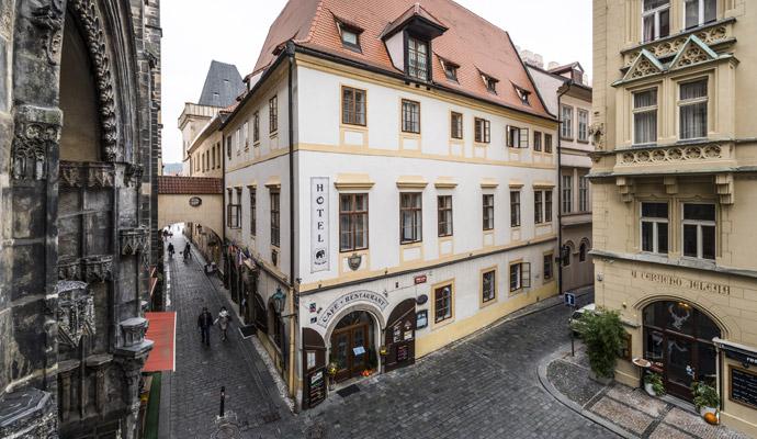 Роскошный отель Černý slon